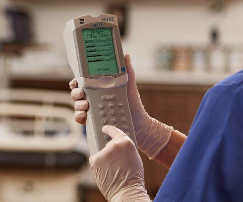 Анализатор крови Abbott i-STAT 1 серия 300 Immuno Ready в комплекте с принтером и устройством обновления ПО