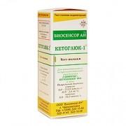 КетоГлюк тест-полоски на кетоны/глюкозу в моче 50 шт