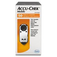 Тест-кассета Акку Чек Мобайл (Accu-Chek Mobile) на 50 измерений