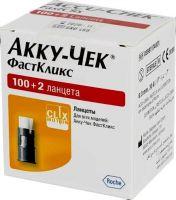 Ланцеты Accu-Chek Fastclix кассета № 100+2 (Акку Чек Фасткликс)