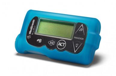 Чехол силиконовый для помпы Medtroniс АСС-251 голубой