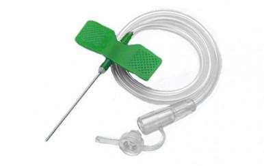 Катетер «бабочка»- устройство для вливания в малые вены 21 G, SFM