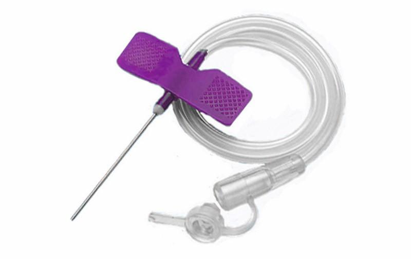 Катетер «бабочка»- устройство для вливания в малые вены 24 G, SFM