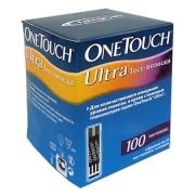 Тест-полоски Ван Тач Ультра (OneTouch Ultra) 100 шт