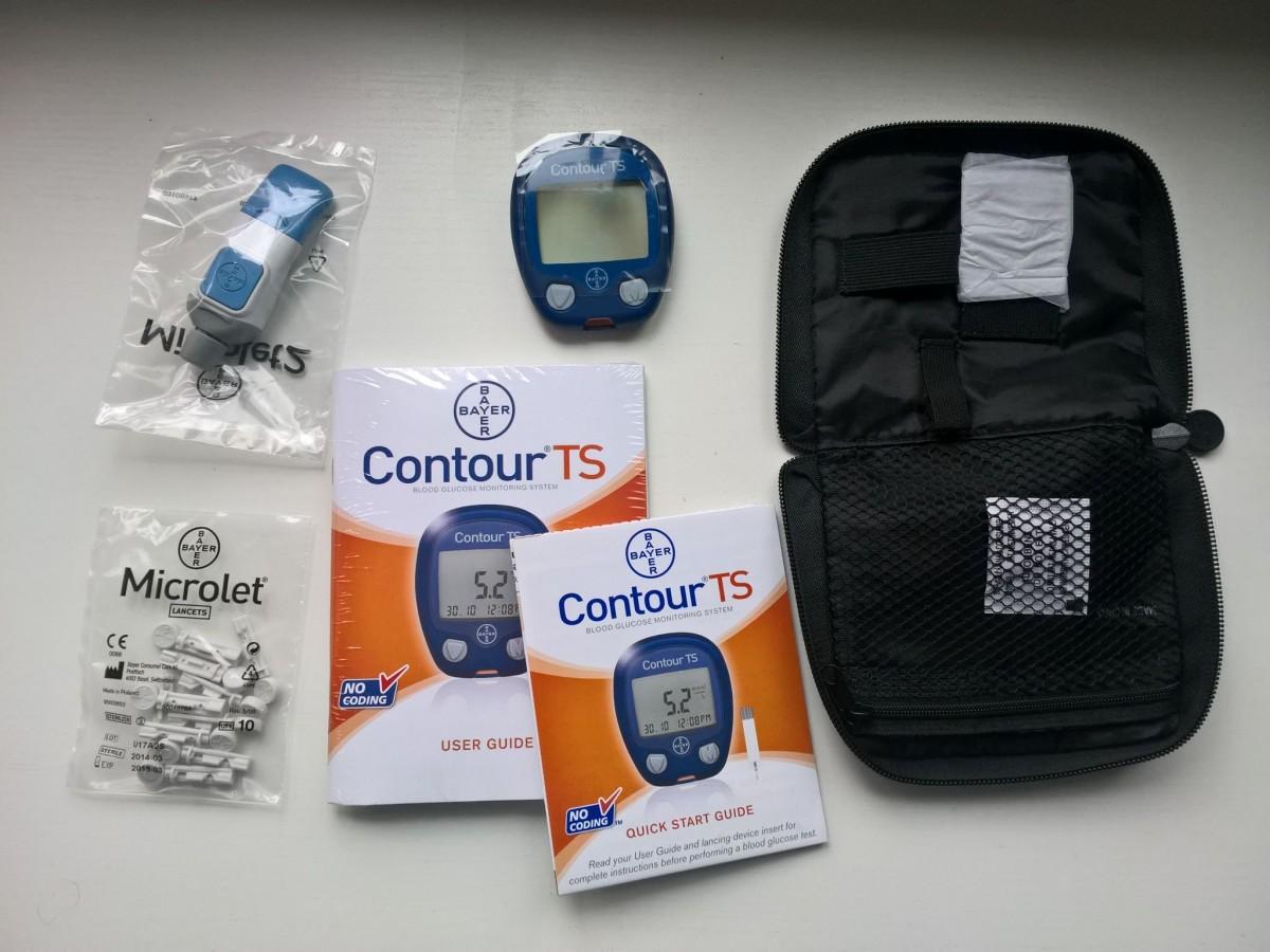 Глюкометр Contour TS (Контур ТС)