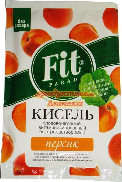 Кисель плодово-ягодный Fit Parad Персик 30 г