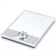 Весы кухонные Beurer DS-61 с индикацией в хлебных единицах, углеводах, белках, жирах, ккал