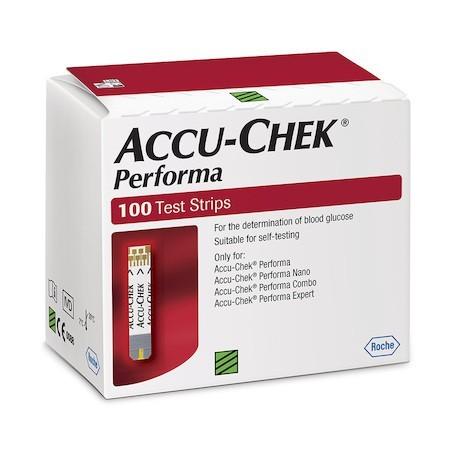 Акку-Чек Перформа (Accu-Chek Performa) тест-полоски 100 шт